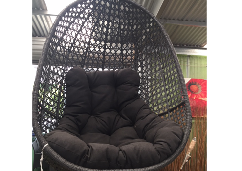 Pod Chair Emmy Charcoal Chain